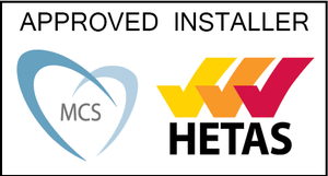 mcs hetas logo certifying JL Phillips as an approved installer