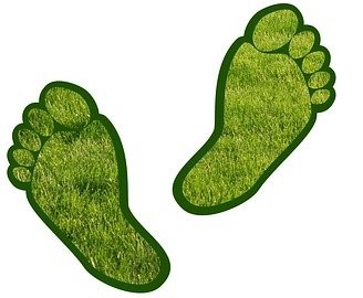 image of green footprints that one can achieve with different types of boilers and their installations